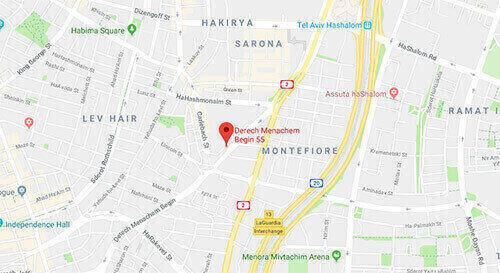 מנחם בגין 55, קומה 1, תל אביב